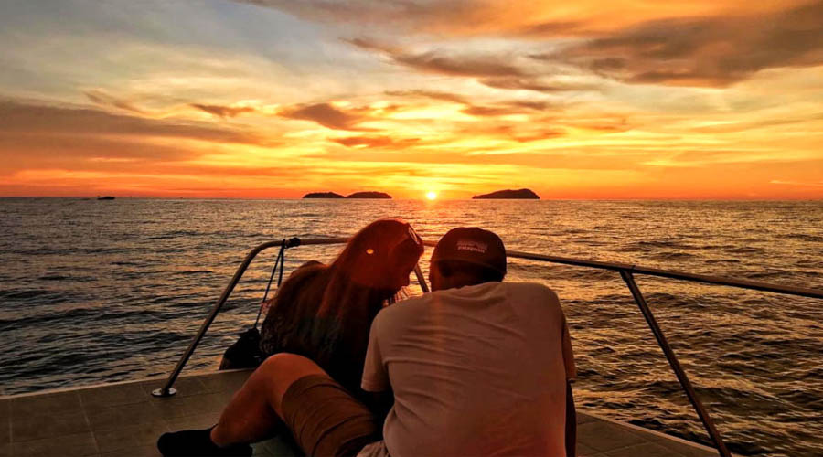 Romance in Langkawi Sunset Cruise