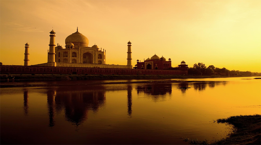 Agra Night View
