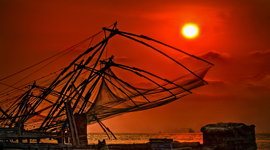 Chinese Fishing Net Cochin 1