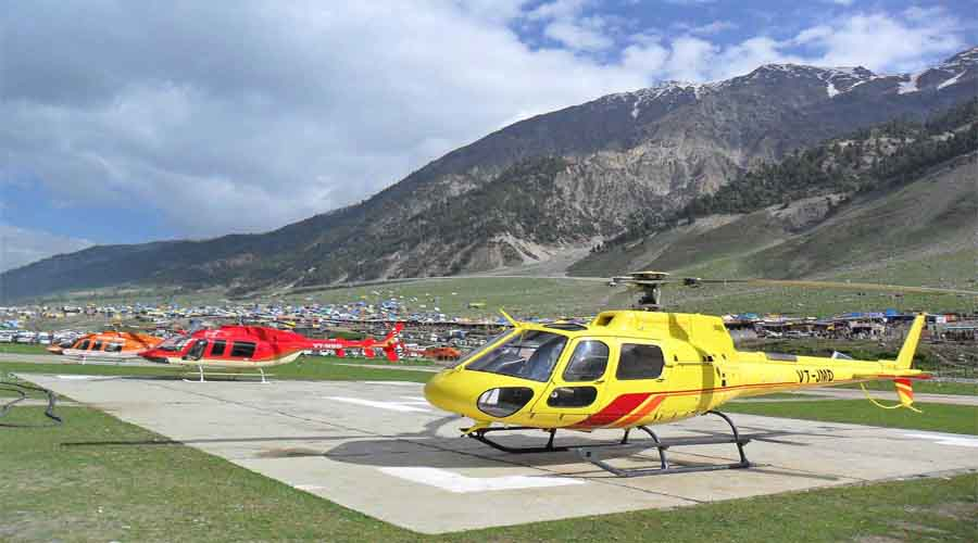 Helipad in Amarnath