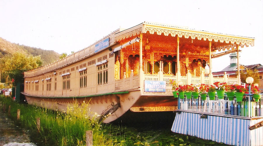 Houseboat in Srinagar