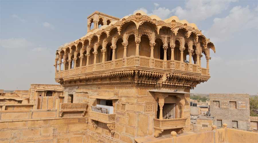 Salim ki haveli Jaisalmer