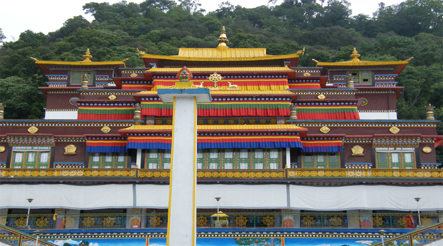 Ranka Monastry in Gangtok