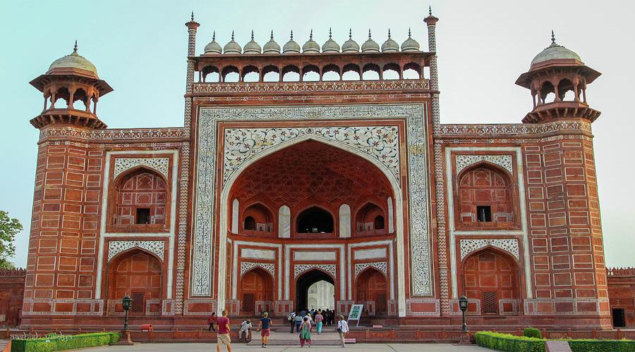 Royal gate of Taj Mahal