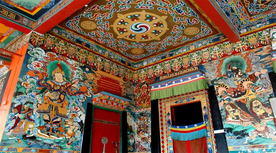 Tibetan Monastry in Darj