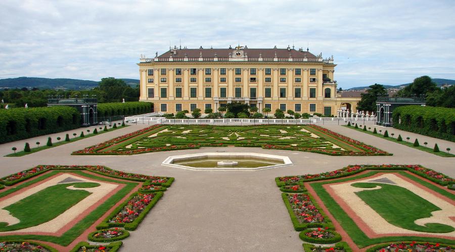 Schonbrunn Palace Vienna Salzburg