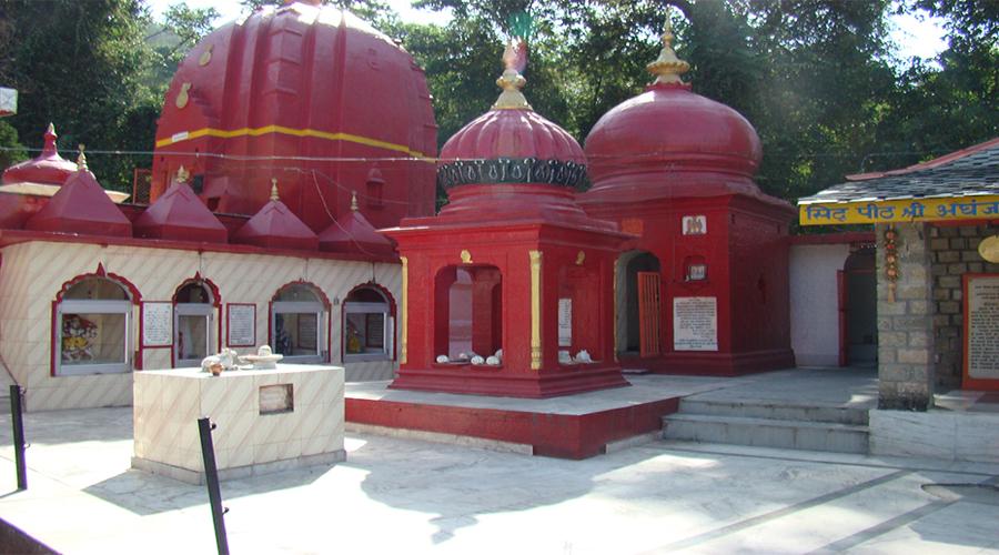 Aghanjar Mahadev temple in Dharmshala