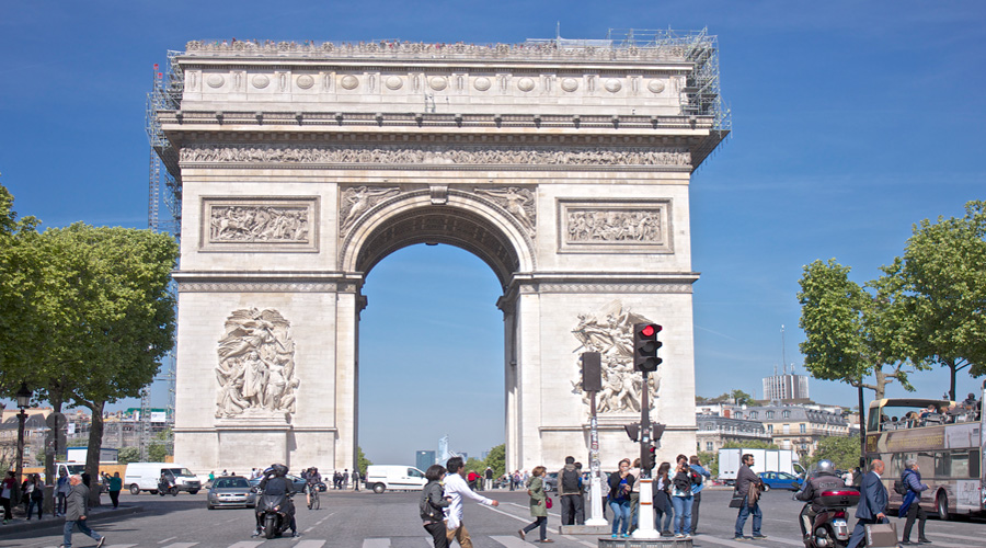 Arc the triomph, Paris