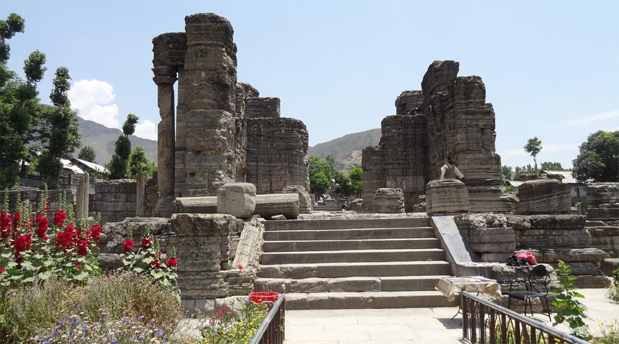 Avantira Ruins,Srinagar