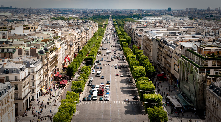 Avenue Champs, Paris