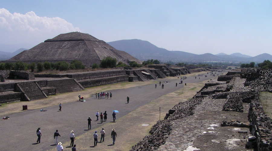 Aztec City Teotihuacan