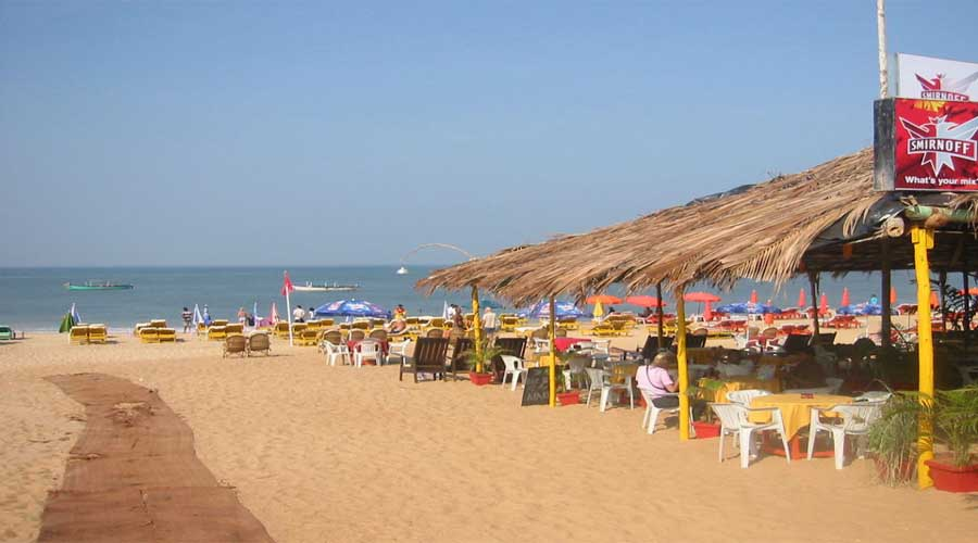 Baga Beach North Goa