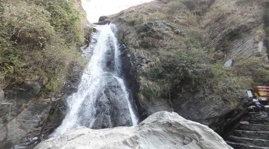 Bhagsu Waterfall in Dharamshala