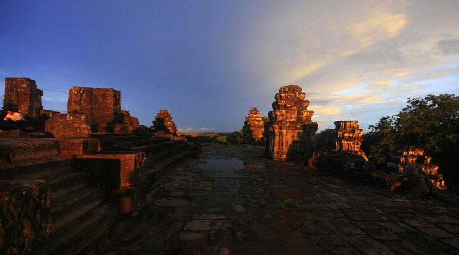 Bakheng hill,   Siem Reap