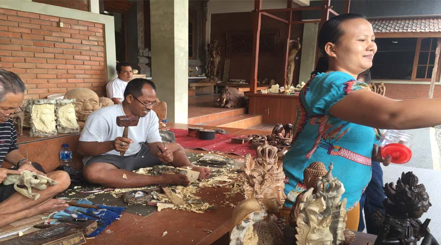 Mas Village for wood Carving