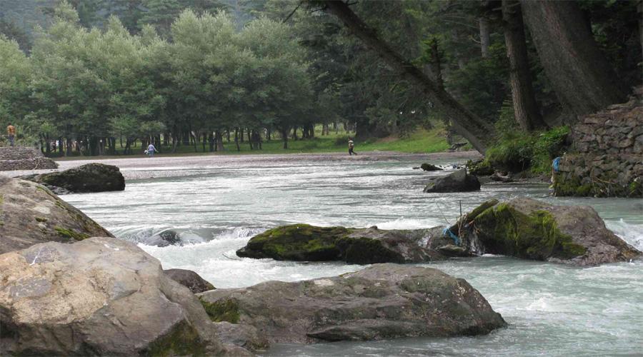 Betab Valley in Pahalgam