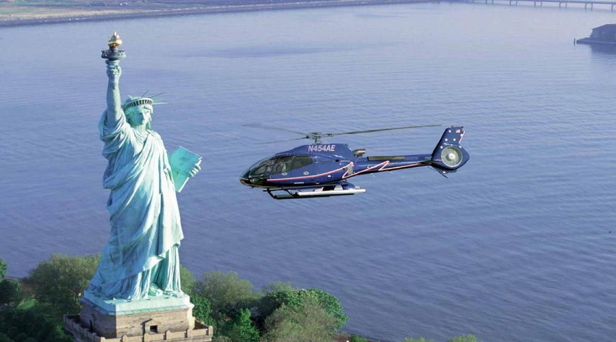 Big Apple Heli tour, New York