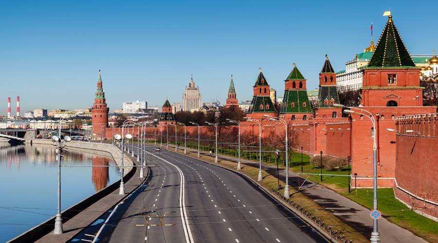 Kremlin walls, Moscow