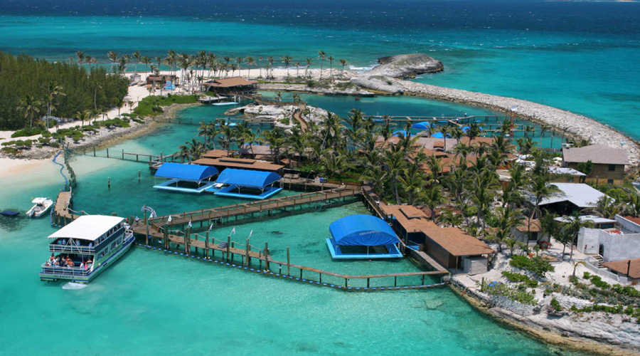 Blue Laggon Island Bahamas