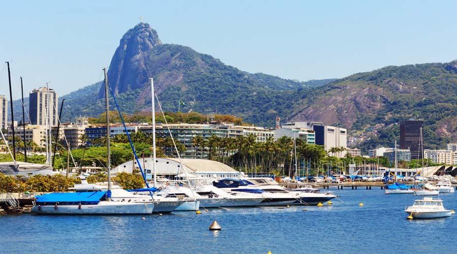 Boat tour of Guanabara Bay, Rio de Janeiro