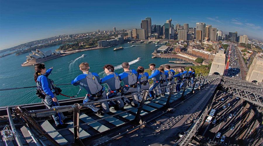 bridge climb, Sydney