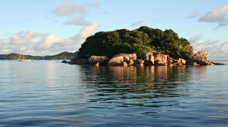 Chauve Souris Island, near Praslin Island