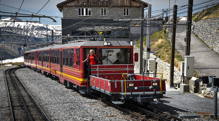 Cog Wheel Train (Takes for to the top of Jungfrauj