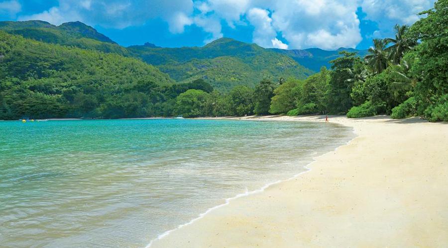 Beach in Mahe