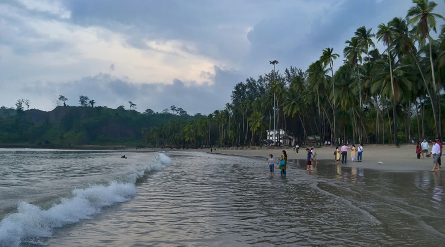 corbyn cove beach Portblair