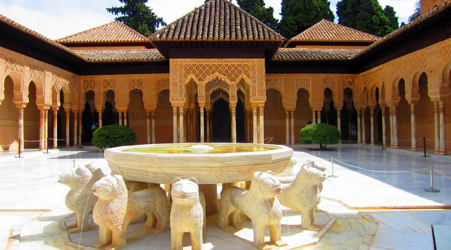 Court of Lion, Alhambra