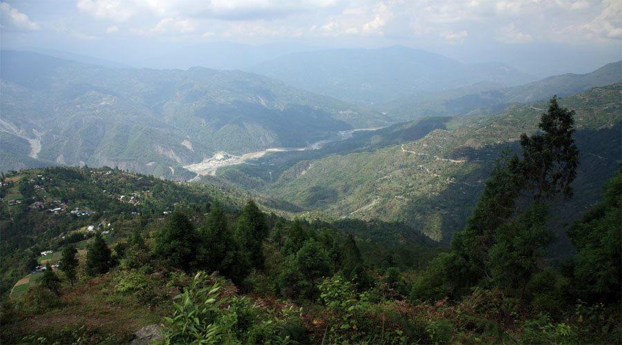 Deolo hill in Kalimpong