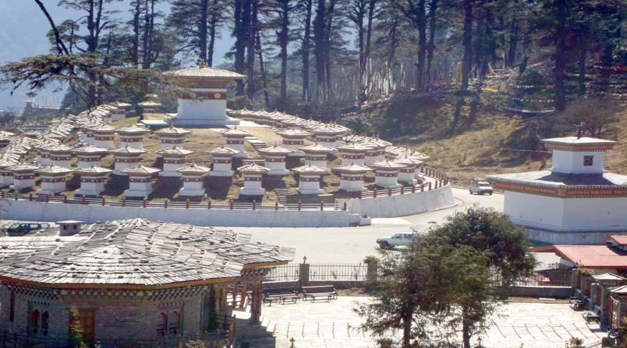 Dochu -La Pass, Punakha