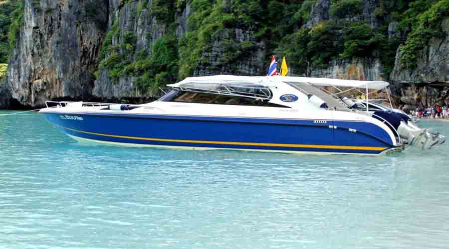 four island with speedboat krabi