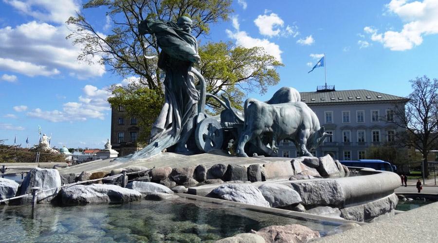 Gefi on Fountain, Copenhagen