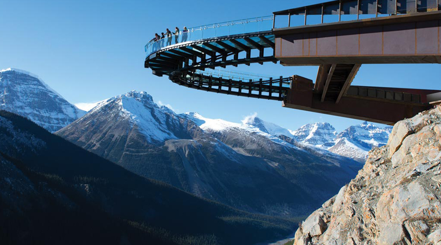 Glacier Skywalk, Jasper