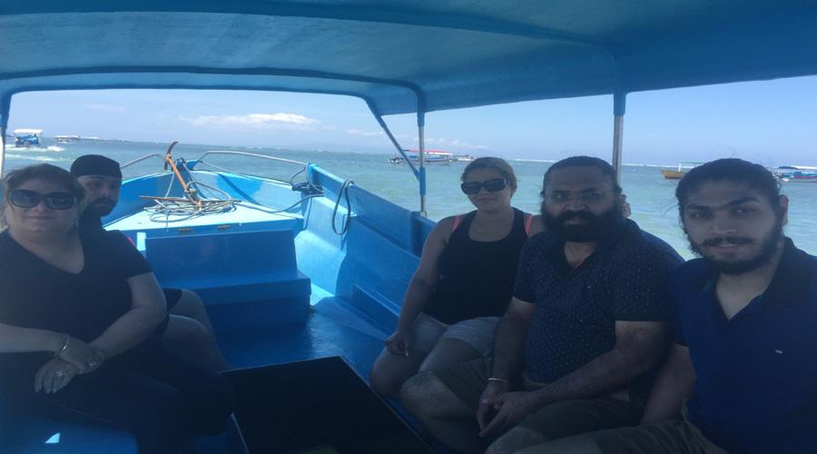 Glass Bottom Boat, Bali