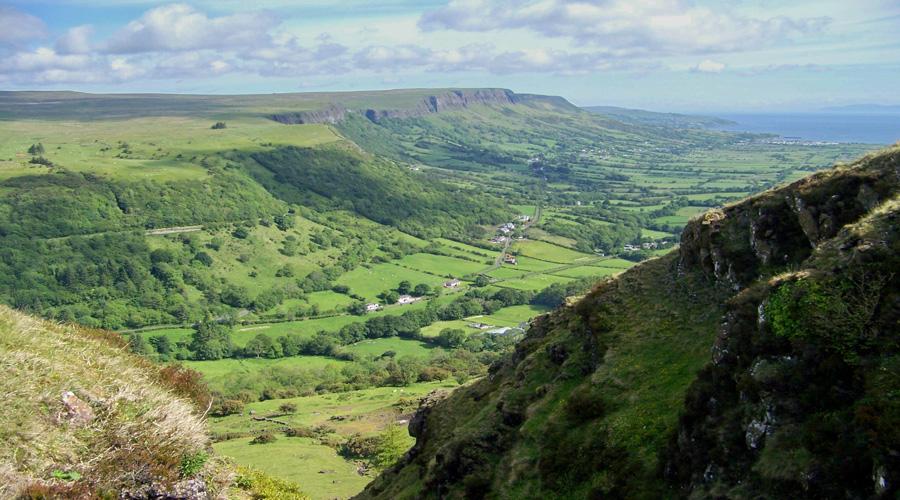 Glens of Antrim, Belfast