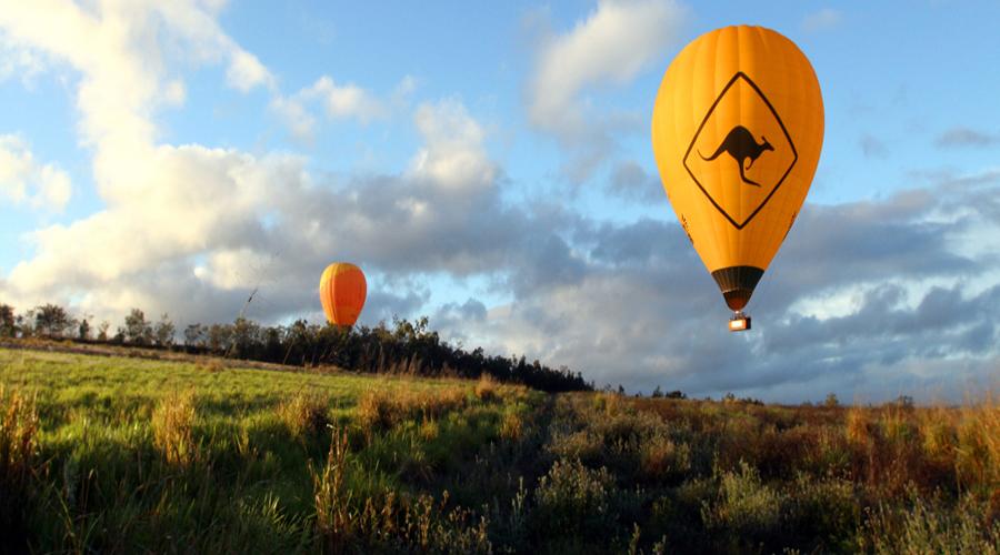 Hot Air Balloon, Gold Coast
