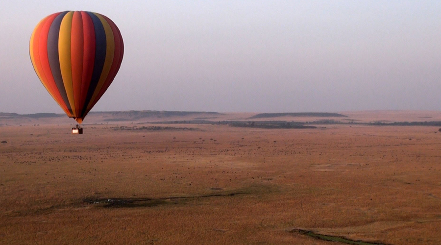 Hot air Balloon, Masai Mara