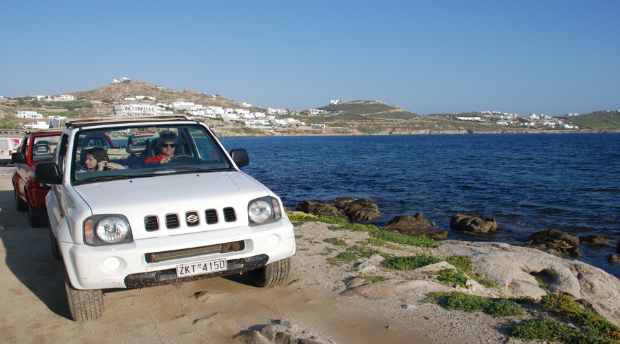 Jeep Safari, Mykonos