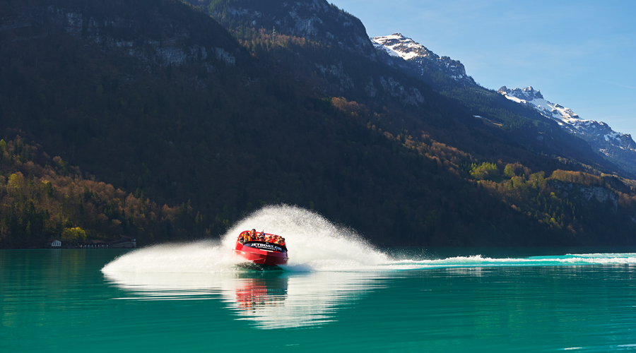 Jet Boat Ride, Interlaken