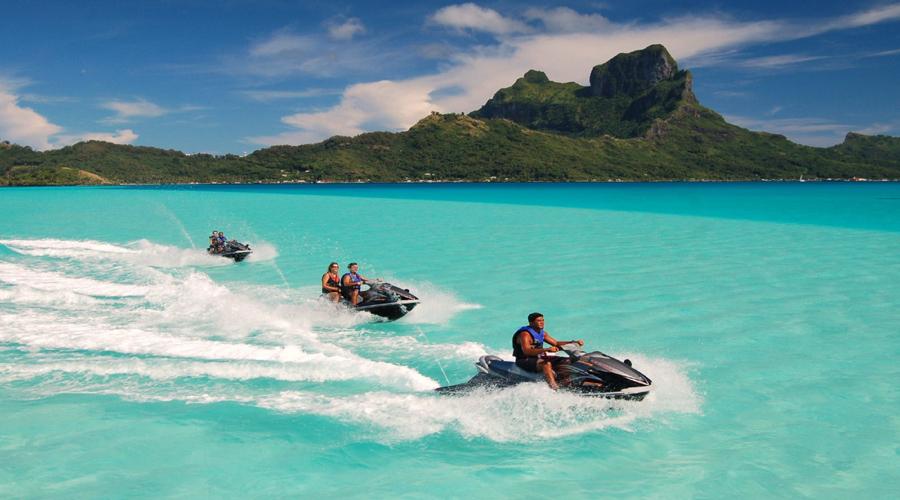 Jet Ski, Bora Bora