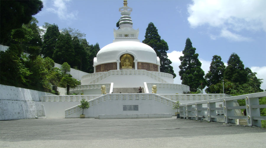 Japanese Temple in Darjeeling