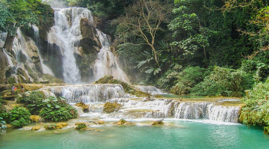 Kuang Si Waterfall,  Luang Prabang