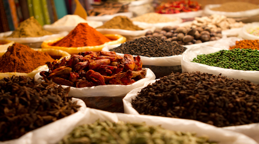 Spice shopping