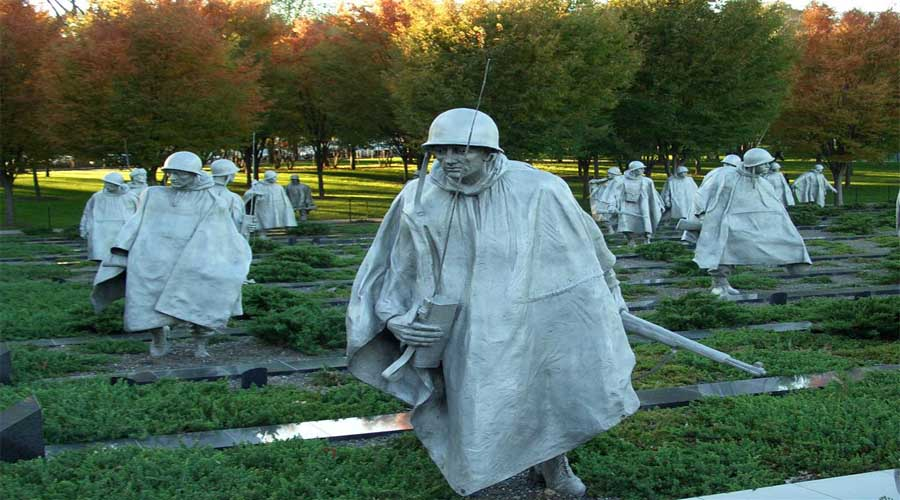 Korea Memorial, Washington