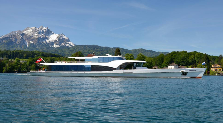 Saphir Yacht Cruise on Lake Lucerne