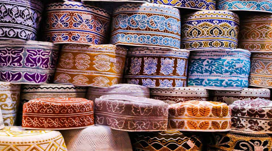 colourful Muttrah Souq