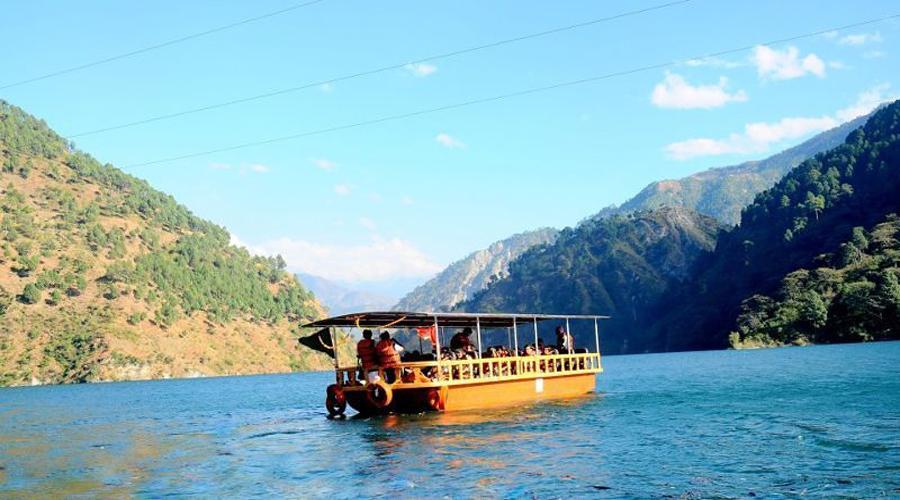 Boat Ride in Chamera Lake