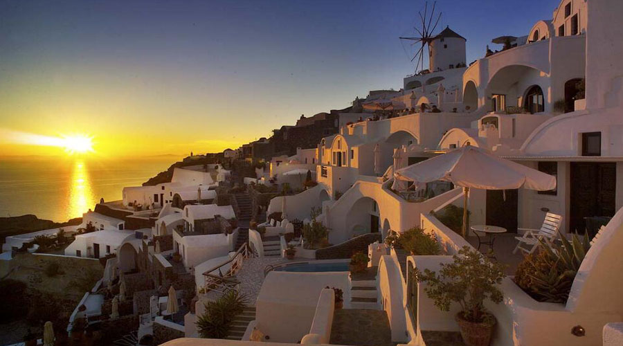 OIA Sunset Tour, Santorini